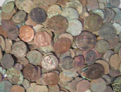 Ancient Roman and Greek Coins
